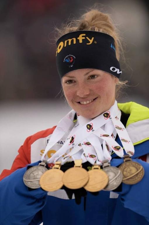 Les médailles des championnats du monde!